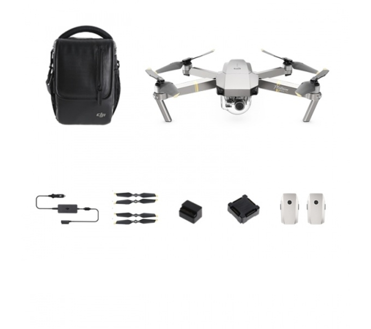 Квадрокоптер Mavic PRO Platinum Fly More Combo